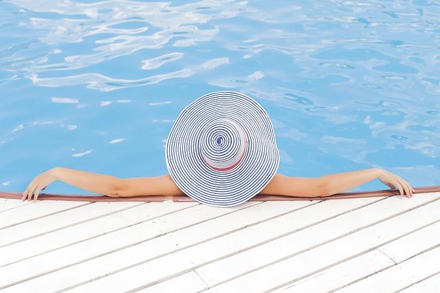 odpočinek ve vodě