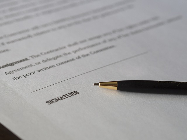 smlouva před podpisem