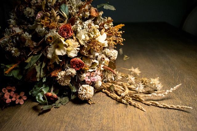sušená letní kytice