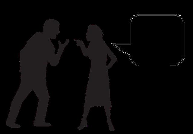 hádka a žárlivost