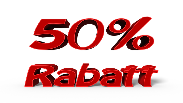 50% Rabat