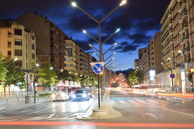 městský večerní provoz
