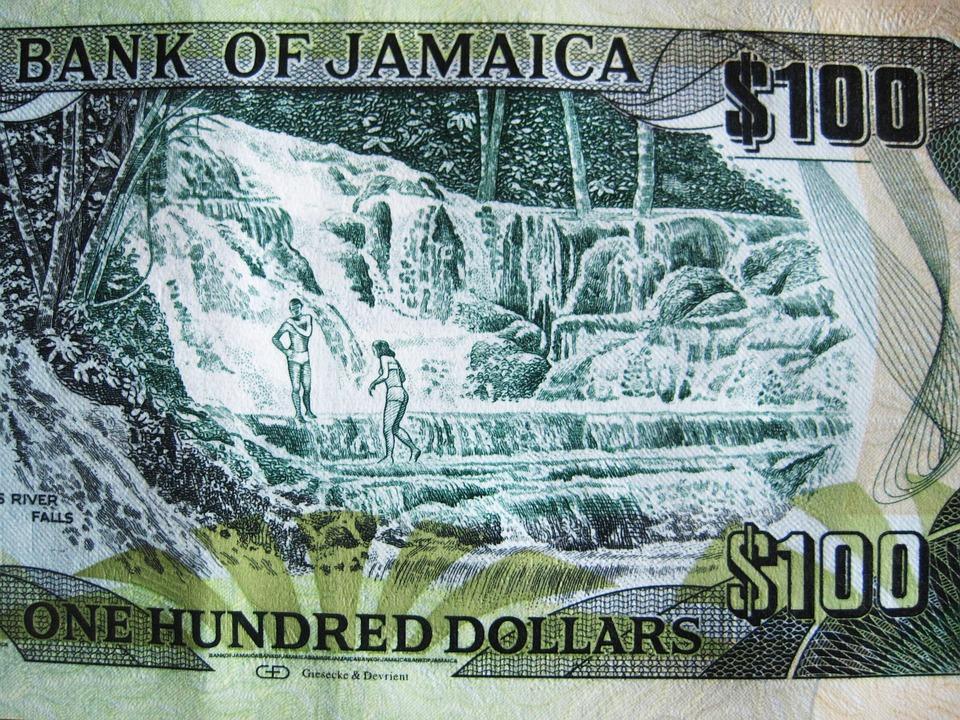 jamajské peníze