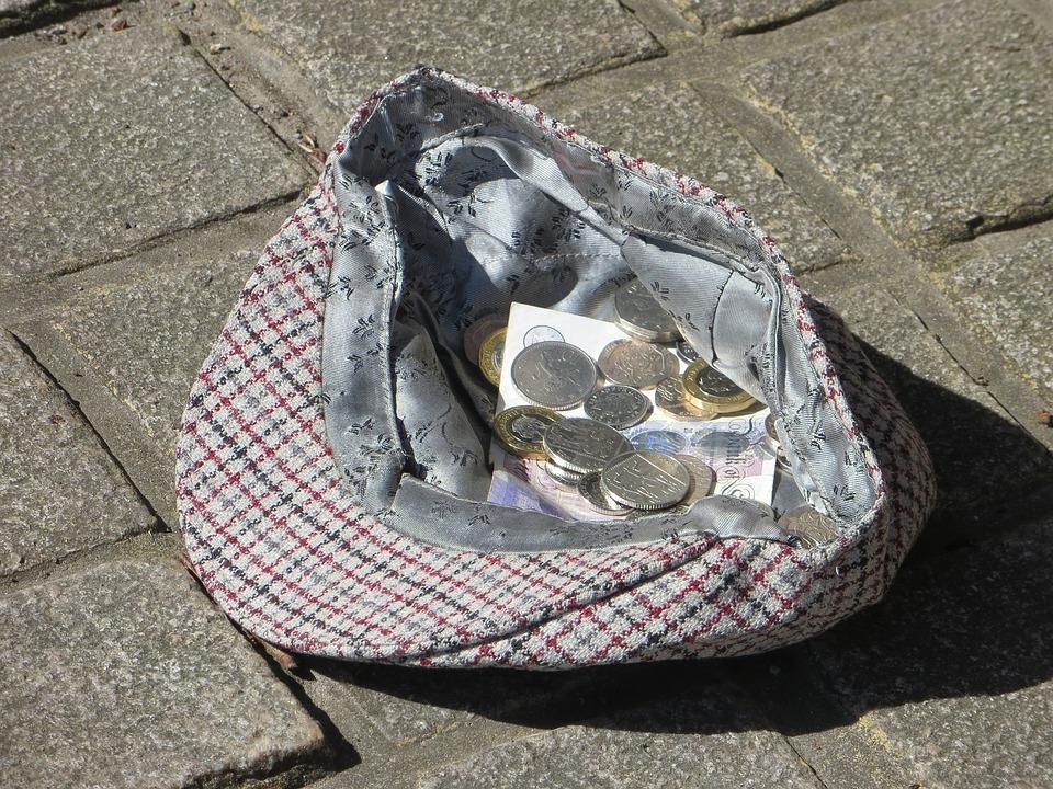mince v čepici