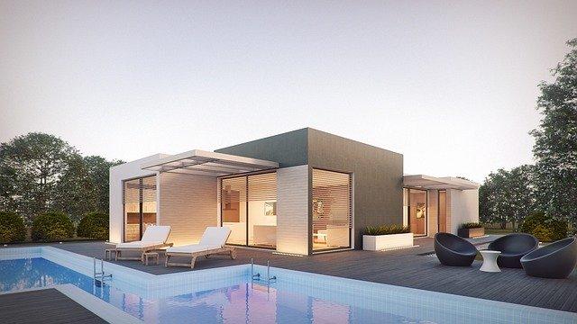 moderní bazén