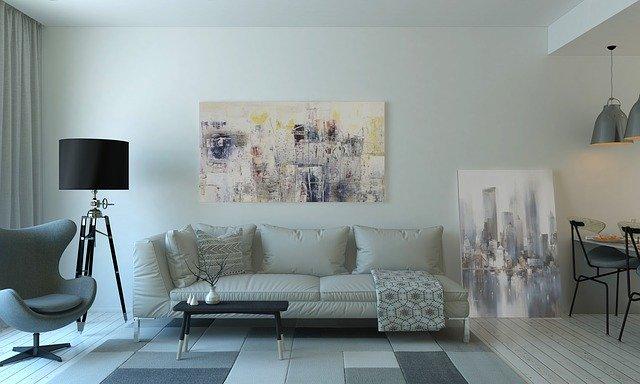 světlý interiér